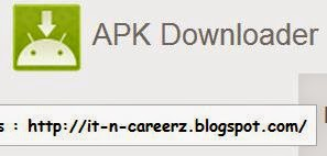 APK Downloader Chrome Extension Download